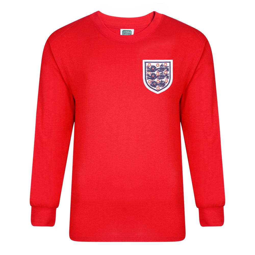 England 1966 World Cup Final No6 Retro Shirt
