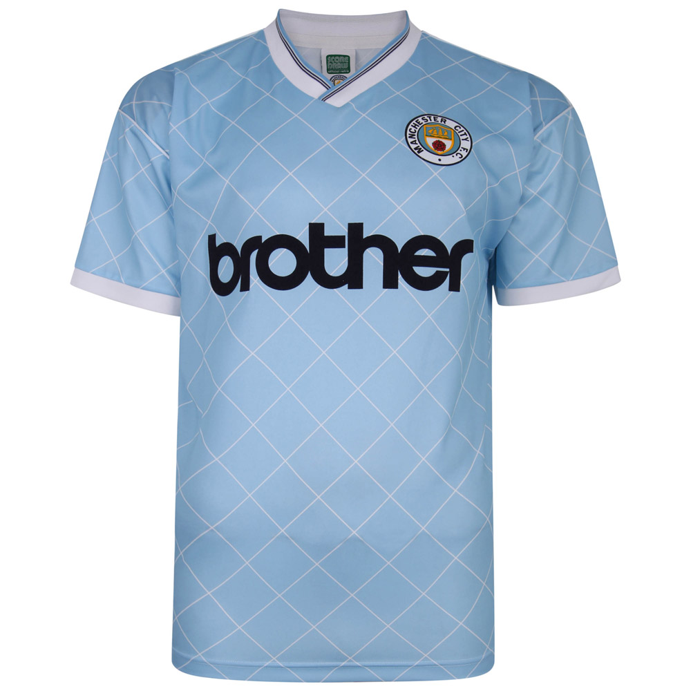 Manchester City 1988 Retro Football Shirt
