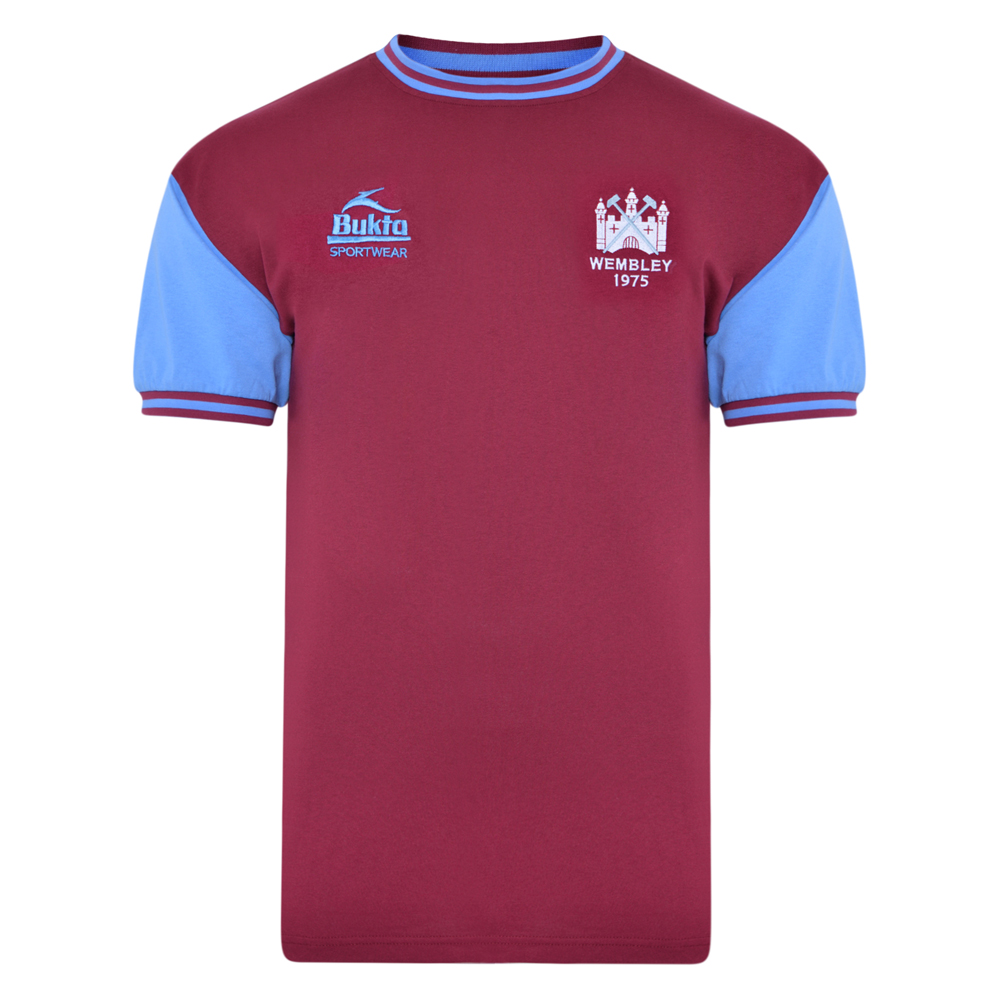 West Ham United 1975 FA Cup Final Retro Shirt