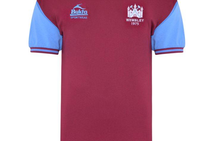 West Ham United 1975 FA Cup Final Retro Shirt