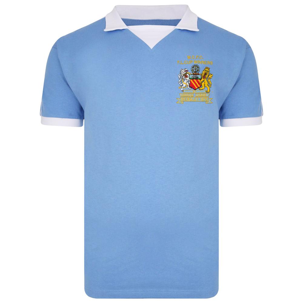Manchester City 1976 League Cup Winners Shirt