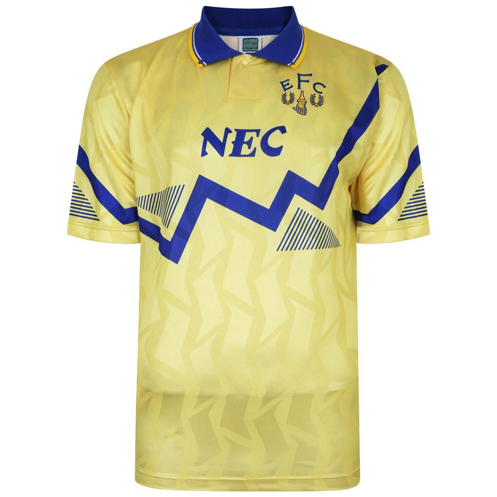 Everton 1990 Away Retro Football Shirt