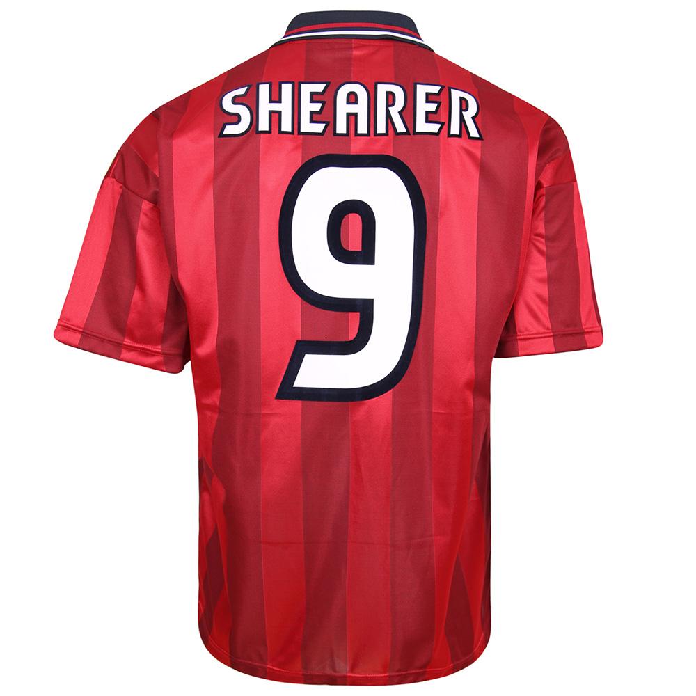 England 1998 Away World Cup Finals No9 Shearer