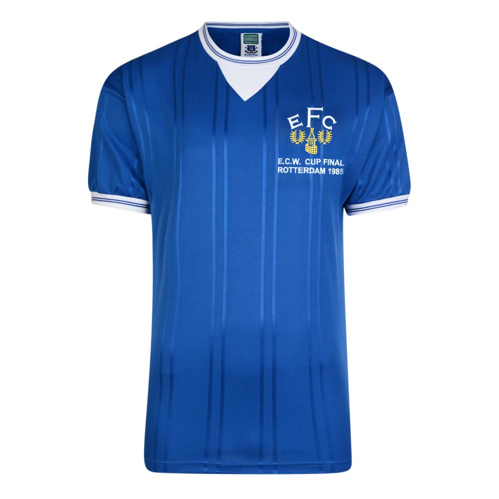 Everton 1985 ECWC Final Retro Football Shirt