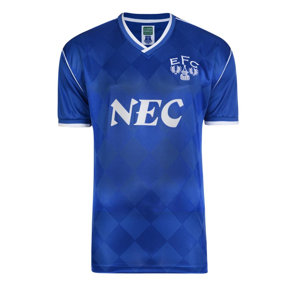 Everton 1987 Retro Football Shirt