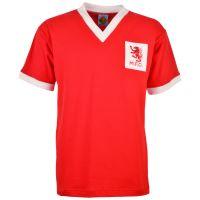 Middlesbrough 1950s Kids Red Retro Football Shirt