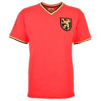 Belgium 1970 Kids Red Retro Football Shirt