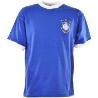 Brazil 1971 3 Star Kids Retro Football Shirt