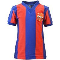 Barcelona 1970s Kids Retro Football Shirt