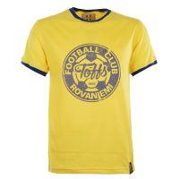 TOFFS Rovaniemi T-Shirt - Yellow/Royal Ringer