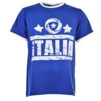 Italia T-Shirt -  Royal/White Ringer