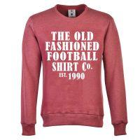 The Old Fashioned Football Shirt Co. - Wine Sweatshirt
