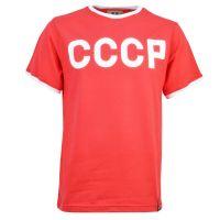 Soviet Union (CCCP) 12th Man T-Shirt - Red/White Ringer