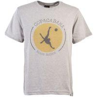 Copacabana Beach Soccer T-Shirt - Grey Marl
