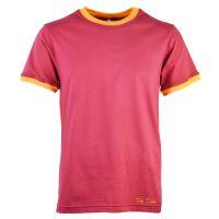 Toffs Retro Maroon/Amber Tee Shirt