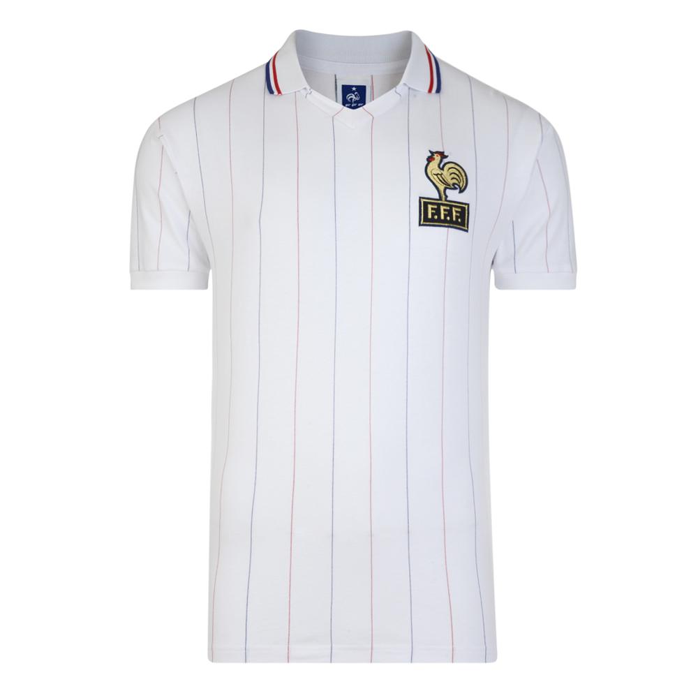 France 1982 Coupe du Monde Maillot Extérieur