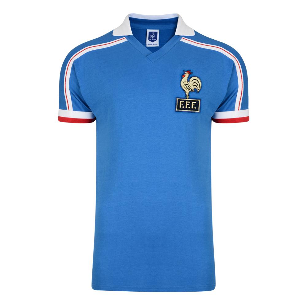 France 1986 Coupe du Monde Maillot