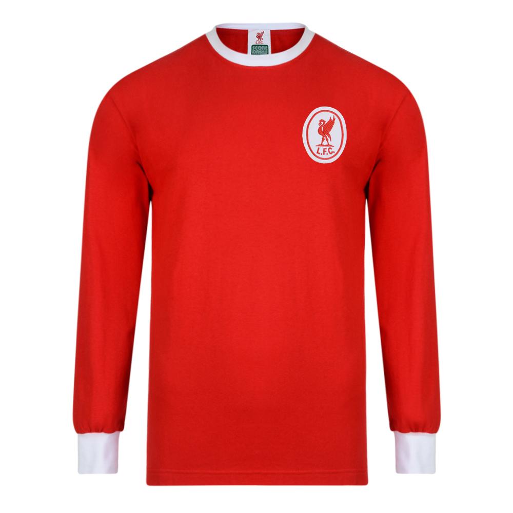 Liverpool FC 1964 Long Sleeve Retro Football Shirt