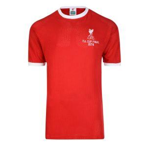 Liverpool FC 1974 FA Cup Final Airtex Retro Shirt