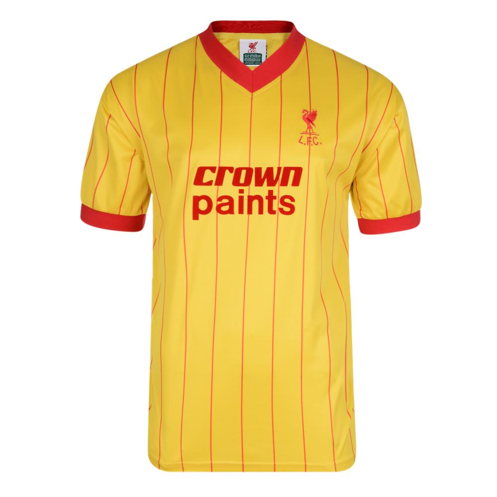 Liverpool FC 1982 Away Retro Football Shirt