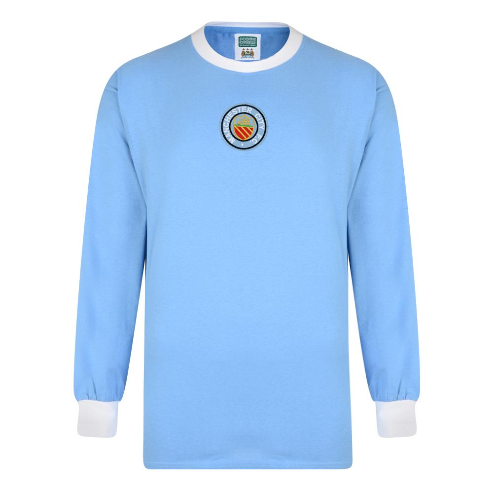 Manchester City 1970 Long Sleeve Retro Shirt