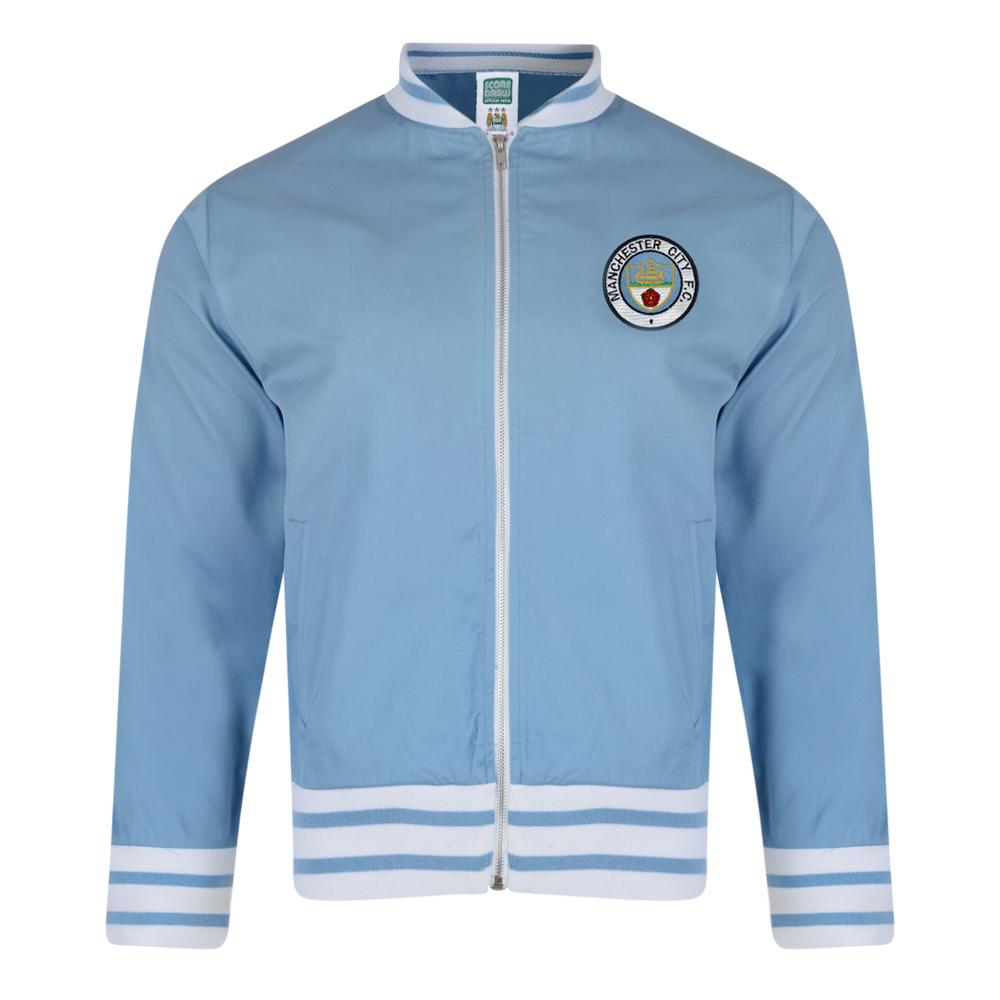 Manchester City 1972 Retro Track Jacket