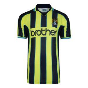 Manchester City 1999 Wembley Polyester Retro Shirt