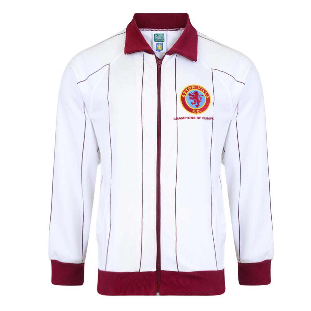 Aston Villa 1982 Away Retro Football Track Jacket