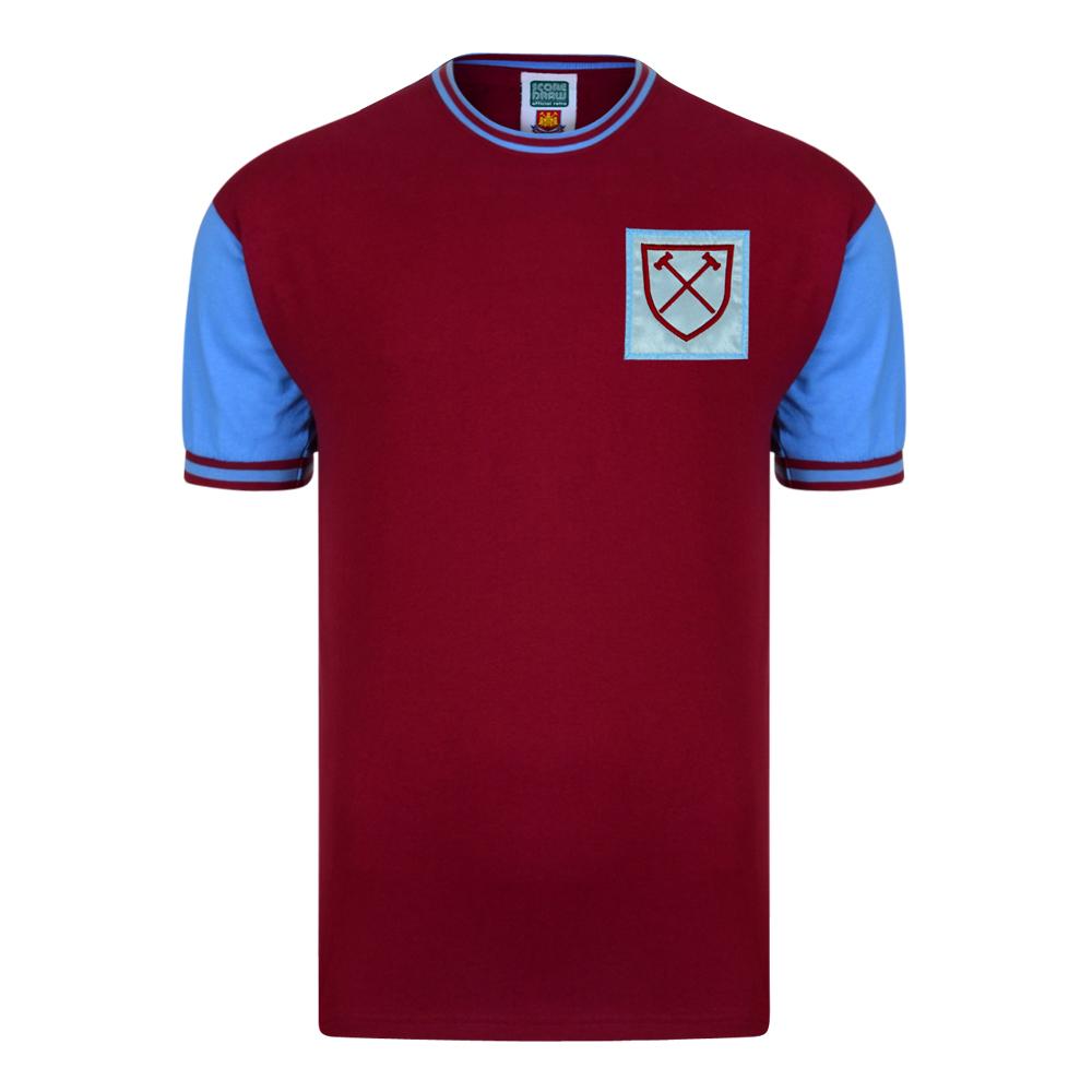 West Ham United 1966 No6 Retro Football Shirt