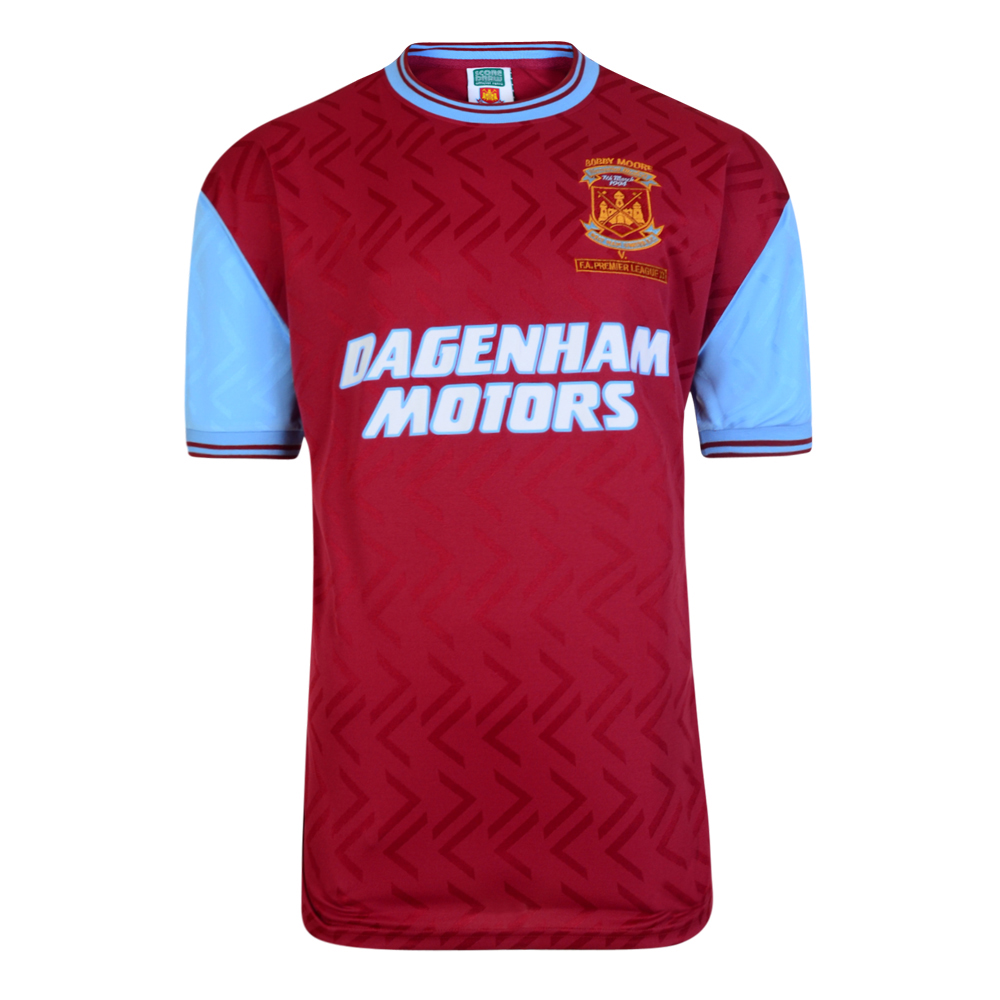 West Ham United 1994 No6 Retro Football Shirt