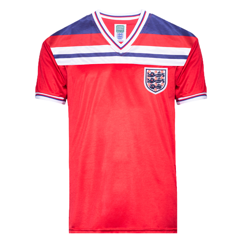 England 1982 World Cup Finals Away Retro Shirt