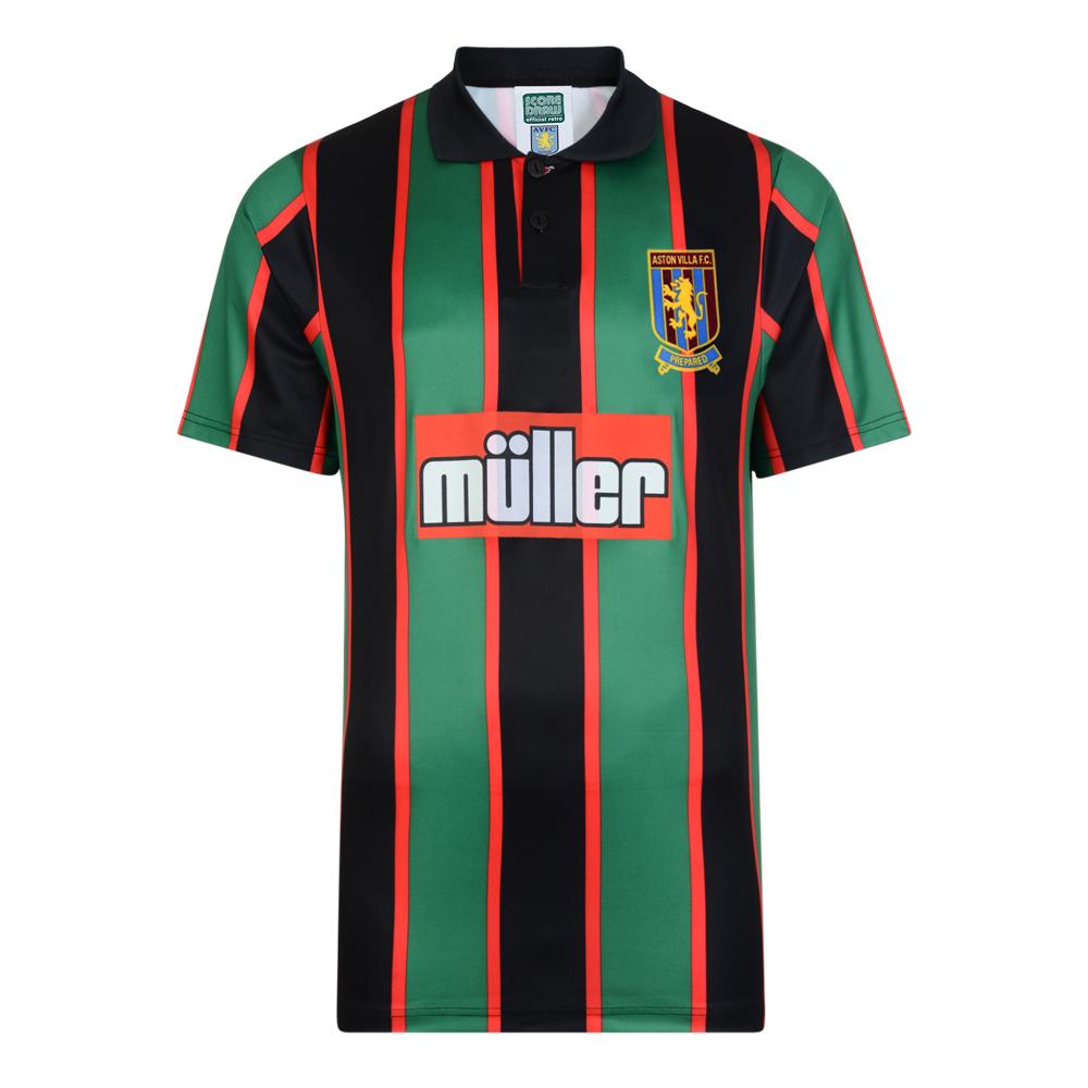 Aston Villa 1994 Away Retro Football Shirt