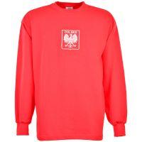Poland 1970s Red Retro Football Shirt