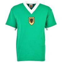 West Germany 1972 Olympics Green Retro Football Shirt