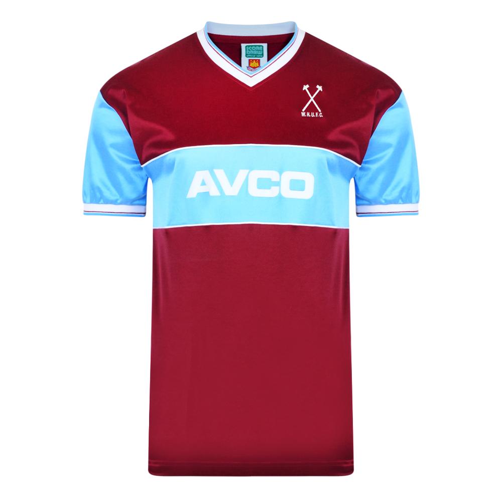 West Ham United 1983 Retro Football Shirt