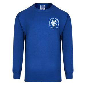 Rangers 1972 European Cup Winners Cup Retro Shirt
