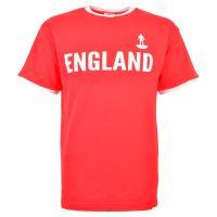 England Subbuteo T-Shirt - Red