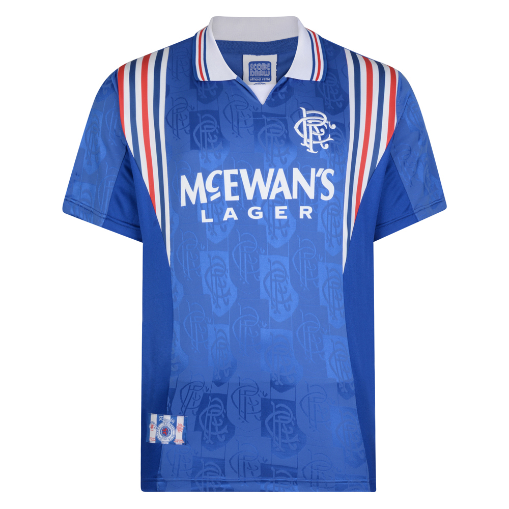 Rangers 1997 Retro Football Shirt