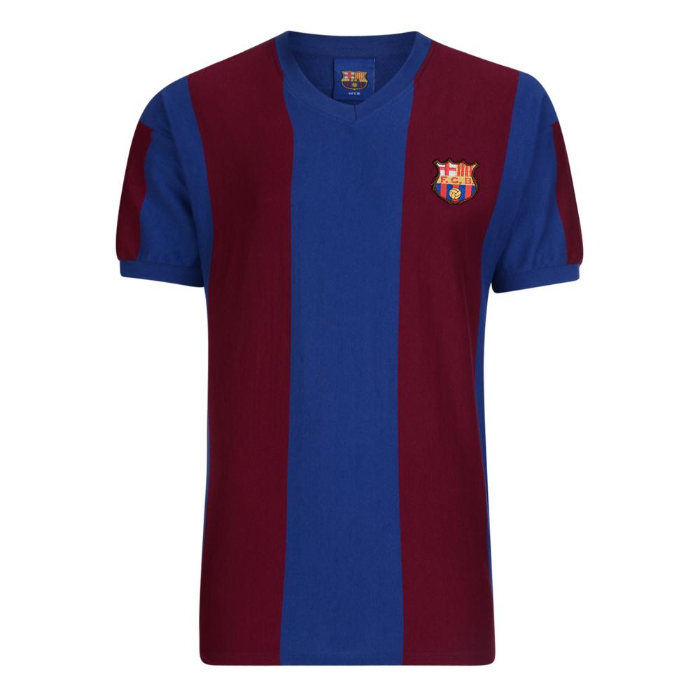 Barcelona 1979 ECWC Retro Football Shirt