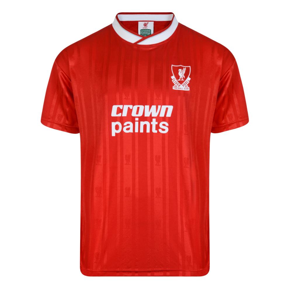 Liverpool FC 1987 Retro Football Shirt