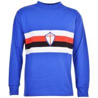 Sampdoria 1970s Retro Football Shirt