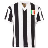 Juventus 1960s V-Neck Retro Football Shirt