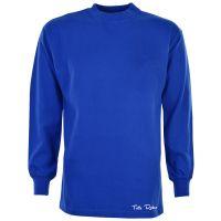 TOFFS Classic Retro Royal Long Round Neck Sleeve Shirt