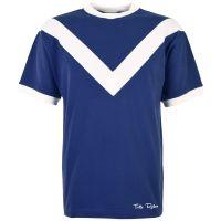 TOFFS Classic Retro Navy Short Sleeve Shirt