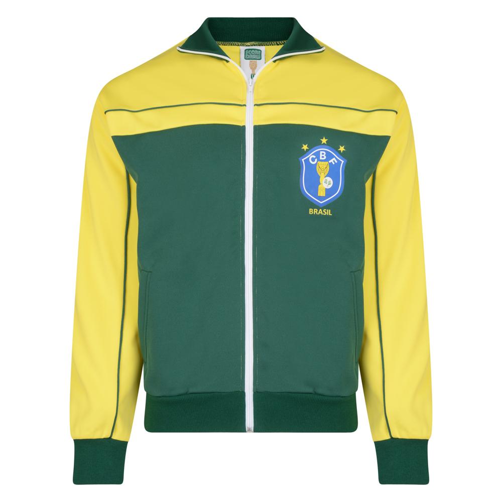 Brasil 1986 World Cup Finals Track Jacket