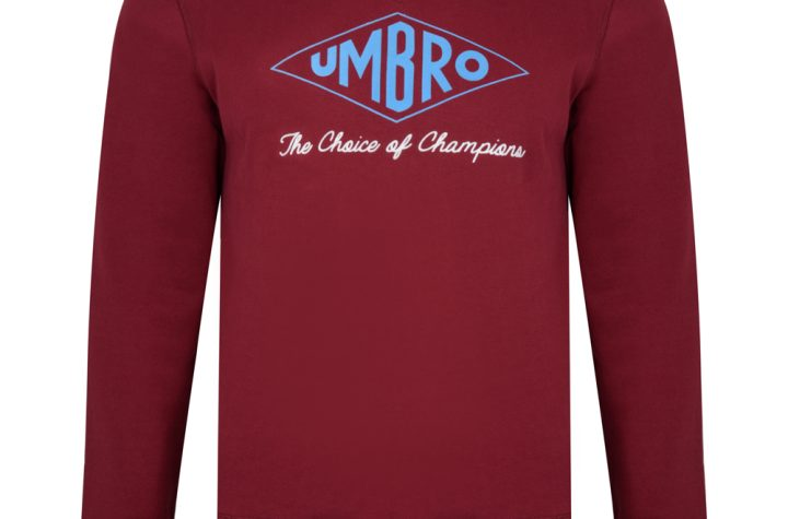 Umbro Choice of Champions Claret Sweatshirt