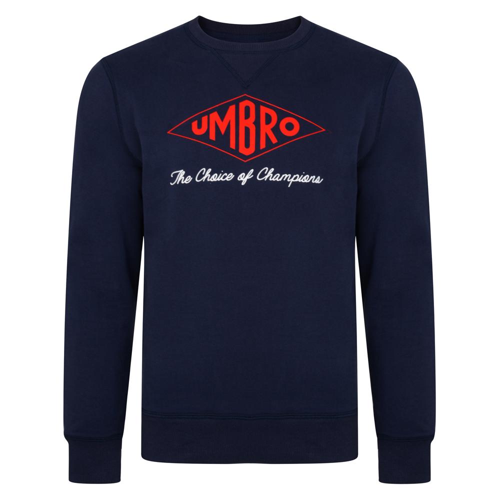Umbro Choice of Champions Navy England Sweatshirt