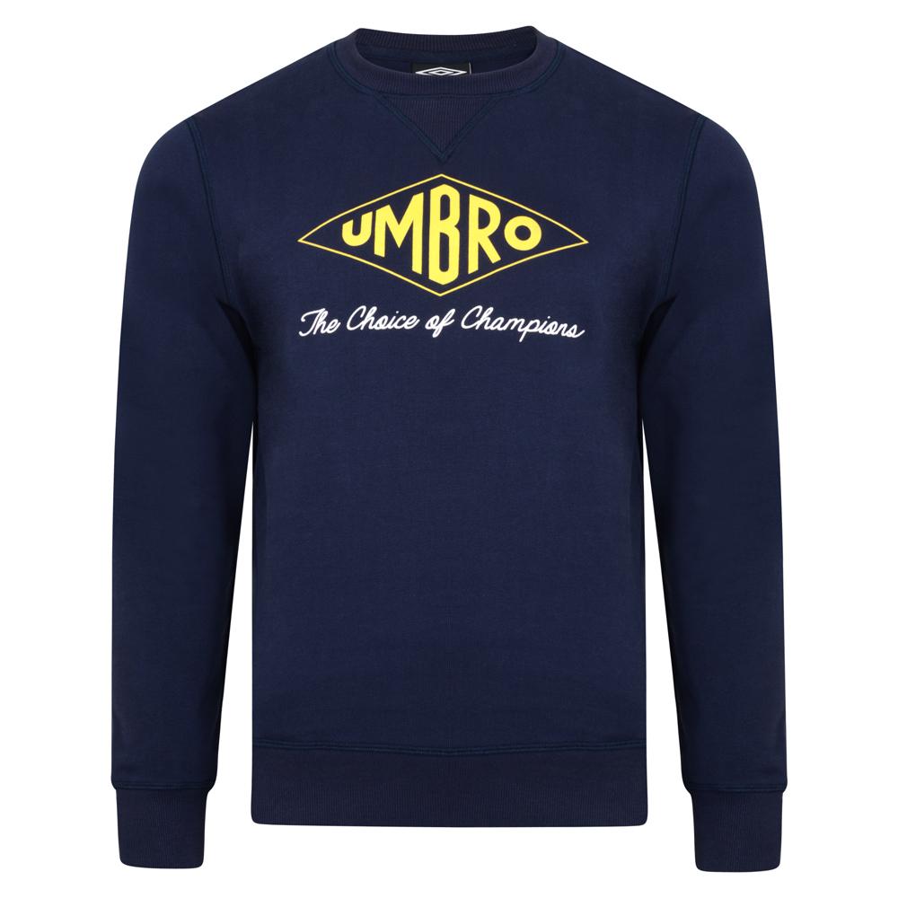 Umbro Choice of Champions Navy Sweatshirts