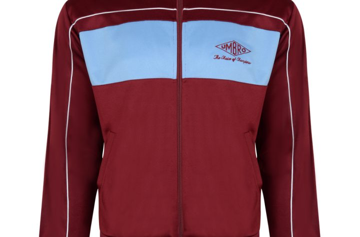 Umbro Choice of Champions Claret Track Jacket