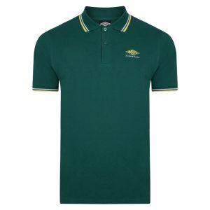 Umbro Choice of Champions Green Polo Shirt